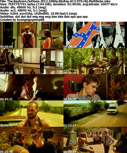 The Baytown Outlaws (2012) 1080p BluRay AC3 DTS HQ-MultiSubs