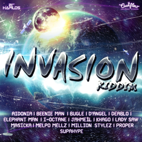 Invasion Riddim (Promo CD) 2013
