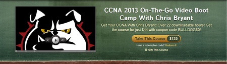 Udemy Chris Bryant CCNA On The Go Video Boot Camp - PRODEV