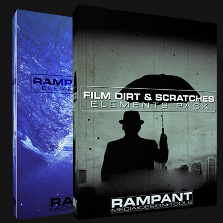 Rampant Film Bundle : Film Dirt & Scratches PLUS FilmFX