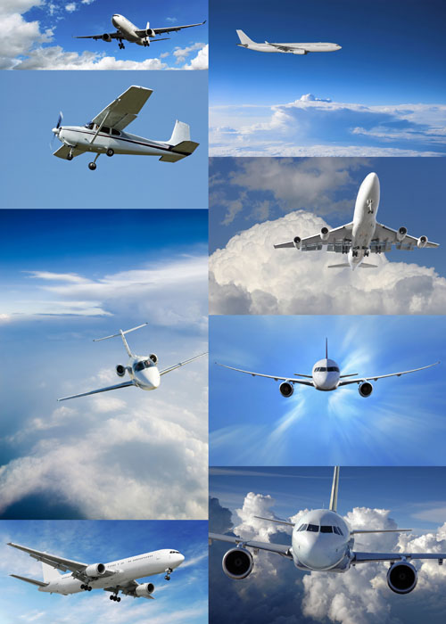 8 HQ Images  Aviation&Sky