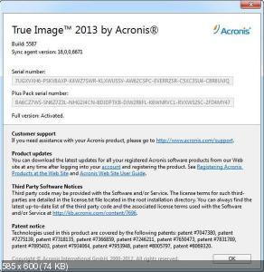 Acronis True Image Home 2013 v 16 Build 5587 Final + PlusPack (2012) ENG/RUS