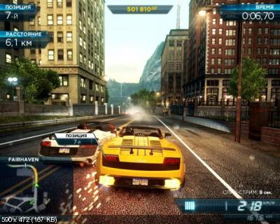 Need for Speed Most Wanted: Ultimate Speed v.1.3 (2012/RUS/ENG/)