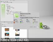 Linux Mint 14.1- MATE, Cinnamon x32x64 (2012)