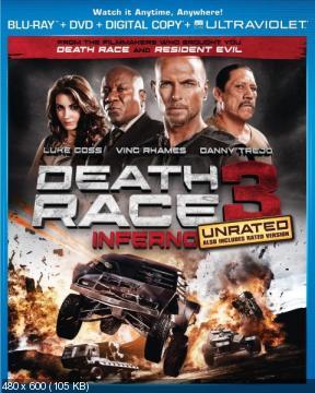 Смертельная гонка 3 / Death Race 3: Inferno (2013) BDRip 720p