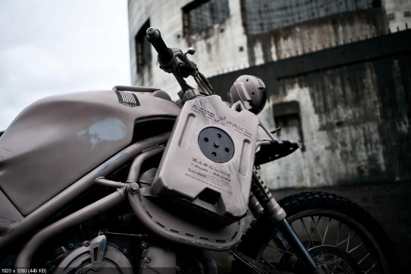 Кастом Icon 1000 Dromedarii на базе Triumph Tiger