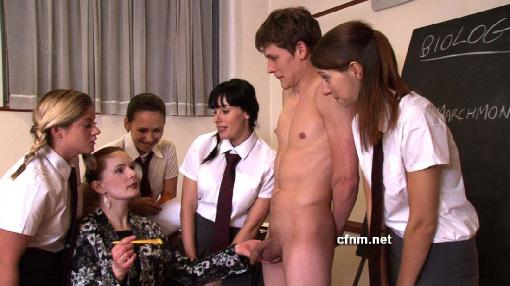 Big guy punished between muscular woman s legs - 2 part 9