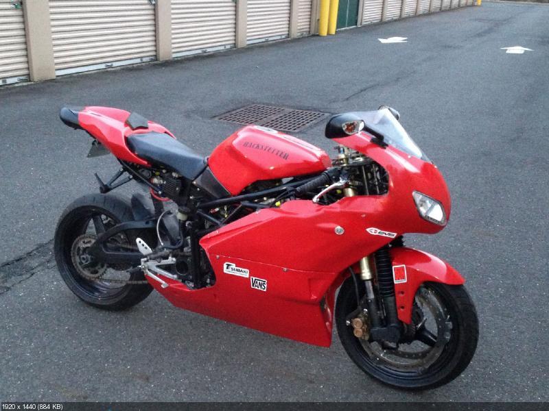 Полноприводный мотоцикл Hackstetter Invex998