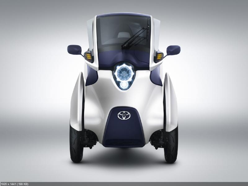 Электрический трицикл Toyota i-Road