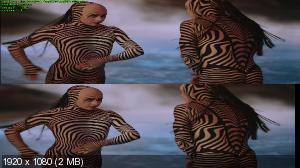Cirque du Soleil: Сказочный мир 3Д / Cirque du Soleil: Worlds Away 3D Вертикальная анаморфная