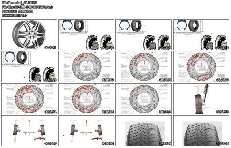 Колеса и шины (2012) DVDRip