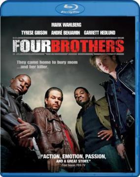 Кровь за кровь / Four Brothers (2005)